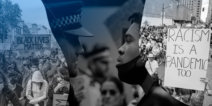 Racism against Black, Asian, and Minority Ethnic (BAME) Communities in the Police Force During Coronavirus Lockdown