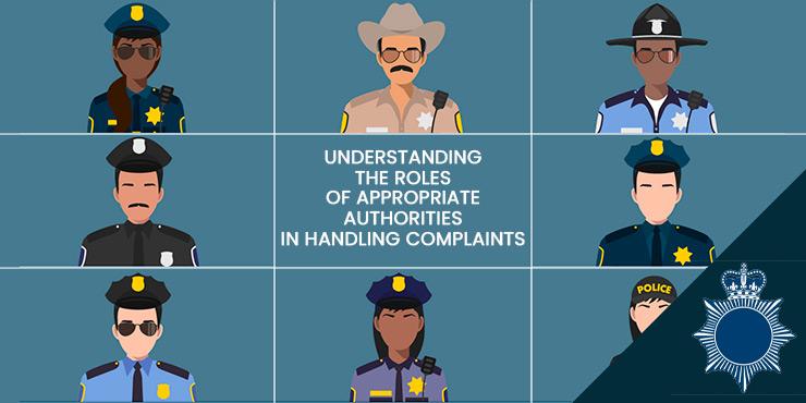 Understanding the Roles of Appropriate Authorities in Handling Complaints
